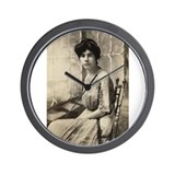Alice Paul Wall Clock
