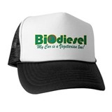 BioDiesel Vegetarian Car Trucker Hat