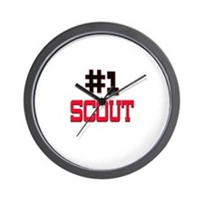 Number 1 SCOUT Wall Clock