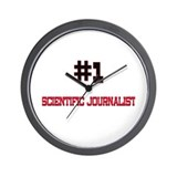 Number 1 SCIENTIFIC JOURNALIST Wall Clock
