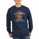 OBAMA--Collective Unconscious Long Sleeve Dark T-S