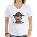 OBAMA--Collective Unconscious Women's V-Neck T-Shi