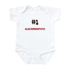 Number 1 SALES REPRESENTATIVE Infant Bodysuit