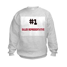 Number 1 SALES REPRESENTATIVE Sweatshirt