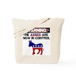 Asses in Control Tote Bag