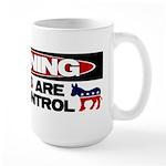 Asses in Control Large Mug