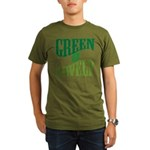 Earth Day : Green & Lovely Organic Men's T-Shirt (