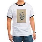 Love & Peace hands Organic Toddler T-Shirt (dark)