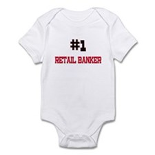 Number 1 RETAIL BANKER Infant Bodysuit
