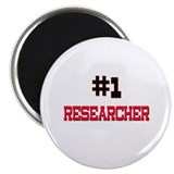 "Number 1 RESEARCHER 2.25"" Magnet (10 pack)"