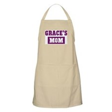 Graces Mom BBQ Apron