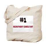 Number 1 RECRUITMENT CONSULTANT Tote Bag