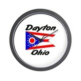 Dayton Ohio Wall Clock