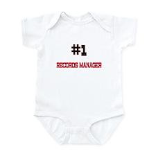 Number 1 RECORDS MANAGER Infant Bodysuit