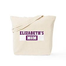 Elizabeths Mom Tote Bag