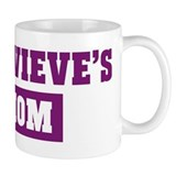 Genevieves Mom Small Mugs