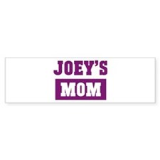 Joeys Mom Bumper Bumper Sticker