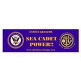 Navy Logo - Navy League Sea Cadet Bumper Bumper Stickers