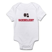 Number 1 RADIOBIOLOGIST Infant Bodysuit
