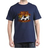 Cow Tipping Black T-Shirt