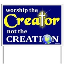 Worship Creator Yard Sign