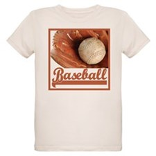 Baseball & Glove T-Shirt
