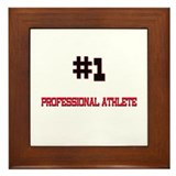 Number 1 PROFESSIONAL ATHLETE Framed Tile