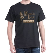 Orange Mom's Diner T-Shirt