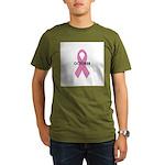 Breast Cancer Awareness Month Organic Men's T-Shir