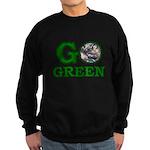 Go Green Sweatshirt (dark)