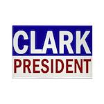 Wes Clark: President (10 Rectangle Magnets)