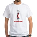 Barber Surgeon White T-Shirt