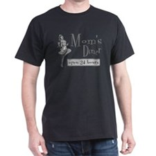 Grey Mom's Diner T-Shirt
