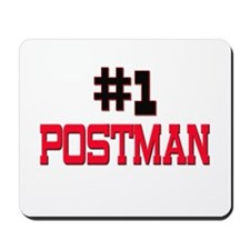 Number 1 POSTMAN Mousepad