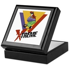 Extreme Skateboarding Keepsake Box