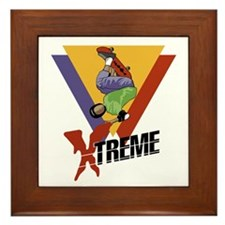 Extreme Skateboarding Framed Tile