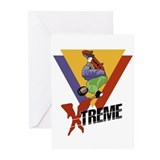 Extreme Skateboarding Greeting Cards (Pk of 10)