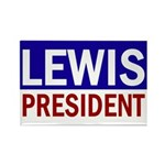 John Lewis for President (rectangular magnet)