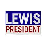 John Lewis for President (rectangular magnet)