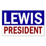 Lewis for President (bumper sticker)