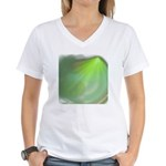 Green Magic Women's V-Neck T-Shirt