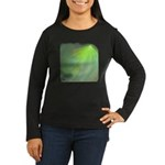 Green Magic Women's Long Sleeve Dark T-Shirt