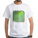 Green Magic White T-Shirt