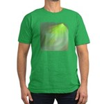 Green Magic Men's Fitted T-Shirt (dark)