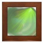 Green Magic Framed Tile