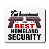 Guns & Homeland Security Mousepad