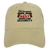 Guns & Homeland Security Baseball Cap