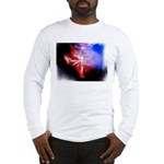 Dark Fractal Long Sleeve T-Shirt