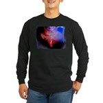 Dark Fractal Long Sleeve Dark T-Shirt
