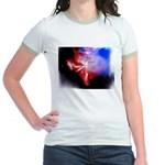 Dark Fractal Jr. Ringer T-Shirt